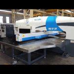30 ton CNC servo hidraulike grusht punues shtyp