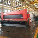12x3200mm pjatë çeliku gijotinë makine 3000mm fletë metalike qethje makine 12mm elektrike