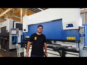 Brake me shtypje CNC me 6 aksë Euro Pro B32135 me Sistemin e Fiksimit të Wilës përmes klientëve australianë