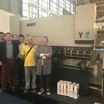600 ton WC67K CNC frenave hidraulike shtypi për shitje