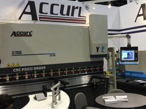 Accurl mori pjesë në mjetin e makinës në Çikago dhe në ekspozitën industriale të automatizimit në 2016