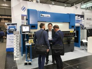 Accurl mori pjesë në Ekspozitën Ndërkombëtare të Makinerisë në Hannover në Gjermani në vitin 2017