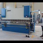 CE 2 aksi frena CNC shtyp 130Tx3200 E200 NC sistemit të kontrollit CN makinë shtypi fërkoni