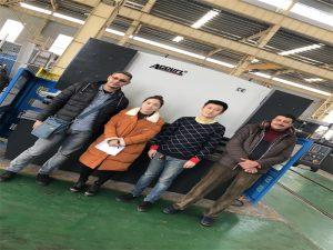 Konsumatorët e Egjiptit blejnë makinën e frenimit të shtypit nga kompanitë Accurl