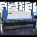 Makineri gërshërë gijotinë hidraulike MS8 8x4000mm me Gjermaninë ELGO P40T touch screen CNC