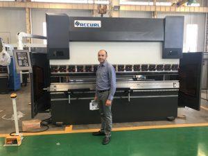 Irani Testimi Klienti Machine në Fabrika jonë 1
