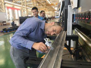 Makina e testimit të klientëve të Iranit në fabrikën tonë 2