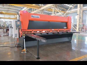 Kokë variabël Master me gërshërë gijotinë CNC hidraulike MS8-10x4000mm