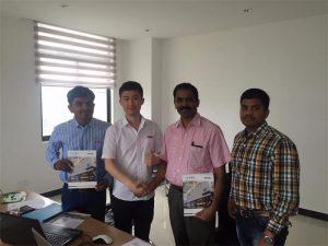 Konsumatorët e Sri Lanka diskutojnë me Mr.Tai në zyrën tonë