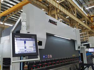 Delem DA52 makina hidraulike hidraulike, presion i saktë Çmimi i frenimit horizontal të shtypit, hekuri me kënd CNC