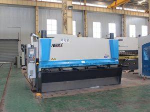 Makineri qethëse hidraulike QC11y-8 * 3200 për shitje me kontroll CNC