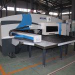 Makinë punching frëngji me kosto të ulët CNC, grusht vrimë katror Shtypni