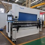 WC67Y-80T / 2500 80T pjatë çeliku CNC makinë shtypi frenave