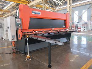 shitje e nxehtë QC11K CNC makine gërryerje hidraulike gijotinë