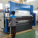 6 aks CNC frena hidraulike e shtypit frenave për fletë metalike 8000mm 1200TN