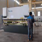 promovimi WC67Y frena hidraulike metalike fletë metalike, makinë bending për profilin e aluminit