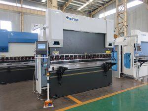 frenat e shtypit të tipit cnc vdesin, frena e shtypit manual, makina e prerjes së çelikut WC67Y-160T4000MM