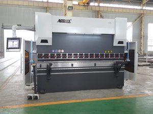 frena hidraulike e shtypit Wc67K 160t 3200 makinë bending për shitje