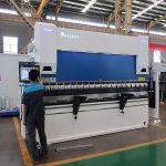 WC67Y Seria e plotë servo cnc 4 aks shtypni frenave me DA52S sistemin e kontrollit të pjatave bending machine
