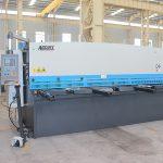 Gijotinë CN hidraulike, cnc hidraulike Makinë për prerjen e fletëve metalike nga shitja e fabrikës së nxehtë
