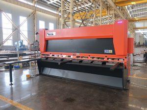 makine qethese hidraulike QC12y-6X3200 makine prerëse hidraulike gijotine hidraulike qethje