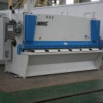 QC11Y CNC makine qethje hidraulike, çeliku CNC prerje makine, fletë metalike prerje makine