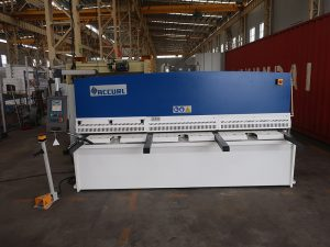 cnc e21S QC12Y-6 × 3200 makina qethese hidraulike