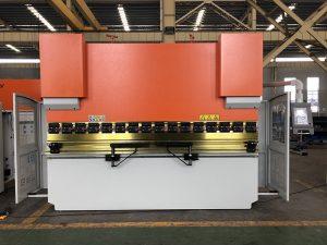 Wc67K-160t 3200mm hidraulike CNC shtyp frenave, shtypni frenave për shitje, frenave të vogla shtypi me da41