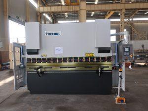 hidraulike detyrë e rëndë delem (2 + 1 aks) frena shtyp me sistemin e kontrollit CNC