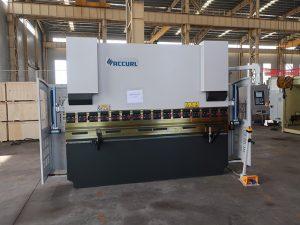 ESTUN E21 gjerësisht të eksportuara WC67K 160T / 3200 pjatë çeliku lakimi makine shtypi frenave çmimi 3 metra makinë bending
